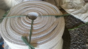 Асбестовый  - стекловолокнистый квадратный шнур.
